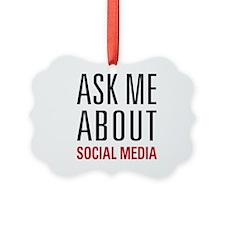 Social Media Ornament