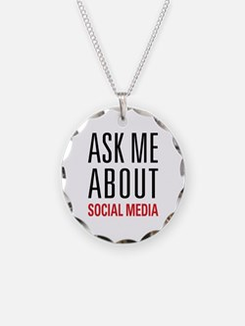 Social Media Necklace