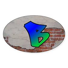 GRAFFITI #1 B Decal