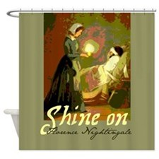 Florence Nightingale With Lamp Shower Curtain