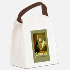 Florence Nightingale With Lamp Canvas Lunch Bag