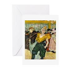 Henri de Toulouse-La Greeting Cards (Pk of 10)