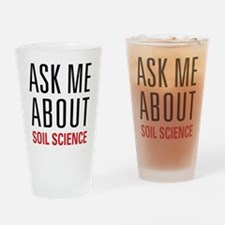 Soil Science Drinking Glass