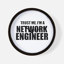 Trust Me, I'm A Network Engineer Wall Clock