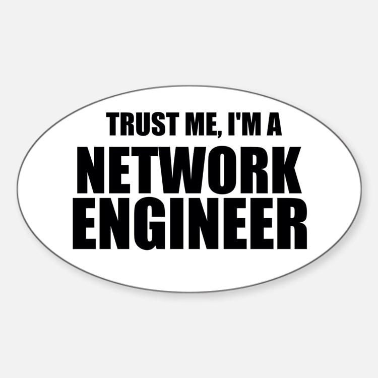 Trust Me, I'm A Network Engineer Decal