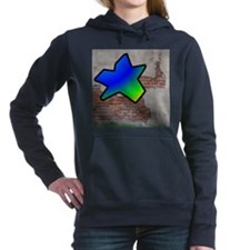 GRAFFITI #1 STAR Women's Hooded Sweatshirt