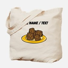 Custom Plate Of Meatballs Tote Bag