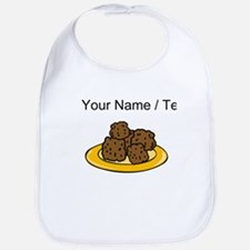 Custom Plate Of Meatballs Bib