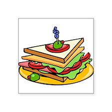 Club Sandwich Sticker