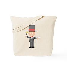 Cartoon Magician Tote Bag