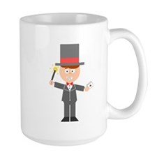 Cartoon Magician Mugs
