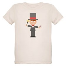Cartoon Magician T-Shirt