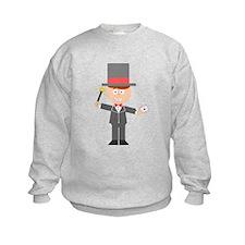 Cartoon Magician Sweatshirt