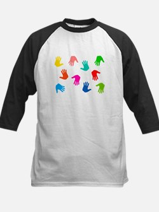 Hand Prints Baseball Jersey