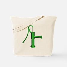 Green Water Pump Tote Bag