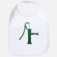 Green Water Pump Bib