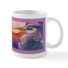 Red Sky Heron Mug
