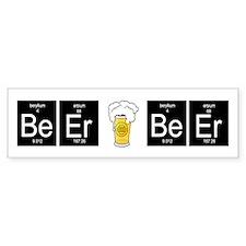 Periodic BeEr Bumper Bumper Sticker