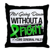 Cure Cerebral Palsy Throw Pillow