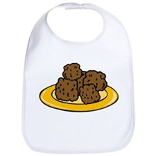 Plate Of Meatballs Bib