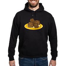 Plate Of Meatballs Hoodie