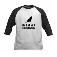 Cat Was Right Baseball Jersey
