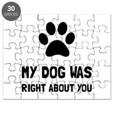Dog Was Right Puzzle
