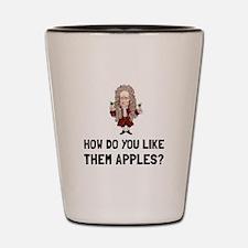 Newton Like Them Apples Shot Glass
