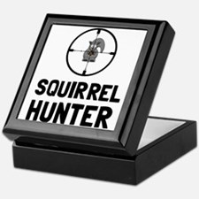 Squirrel Hunter Keepsake Box