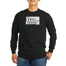 TW225 Big B/W Long Sleeve T-Shirt