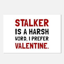 Stalker Valentine Postcards (Package of 8)
