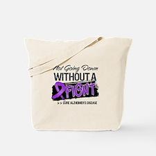 Cure Alzheimers Disease Tote Bag