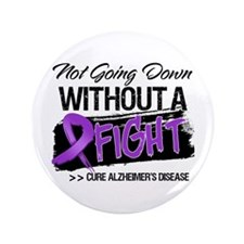 "Cure Alzheimers Disease 3.5"" Button"