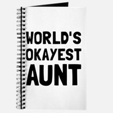 Worlds Okayest Aunt Journal