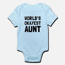 Worlds Okayest Aunt Body Suit