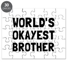 Worlds Okayest Brother Puzzle