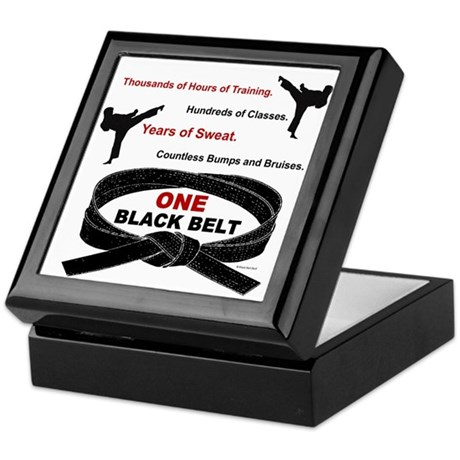 ONE Black Belt 1 Keepsake Box