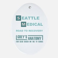 SEATTLE MEDICAL Ornament (Oval)