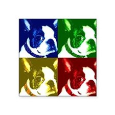 BostonTerrierWarhol Sticker