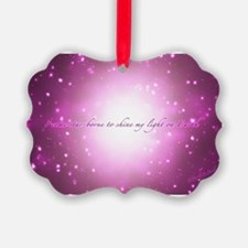 Star-Borne Magenta Ornament