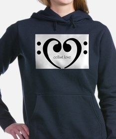 cellist.png Women's Hooded Sweatshirt