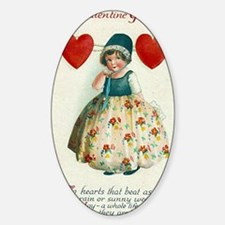 Unique Vintage valentine Decal