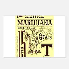 Smoke Marijuana Postcards (Package of 8)