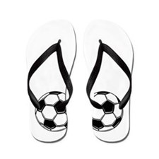 Soccer Woa Nellie Flip Flops