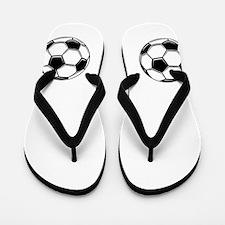 Soccer Terrestrial Flip Flops