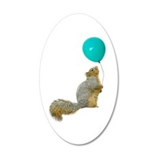 Fat Squirrel Wall Decal