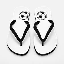 Soccer Woa Nellie 47 Flip Flops