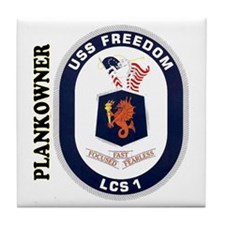 Plankowner LCS-1 Tile Coaster