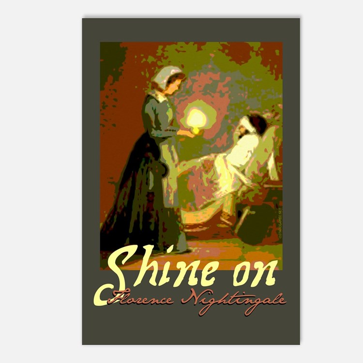 Florence Nightingale Postcards (package Of 8)