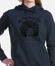 Just isn't curly without Women's Hooded Sweatshirt